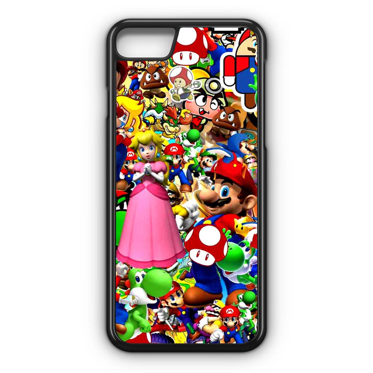 super mario iphone 8 case