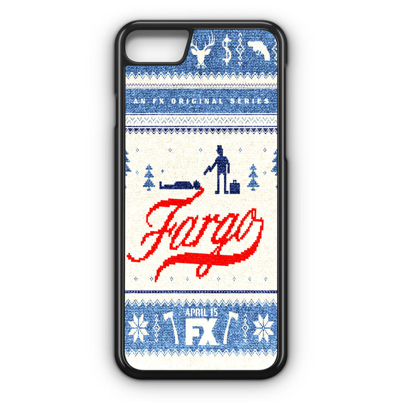 Fargo Tv Series Poster iPhone 8 Case