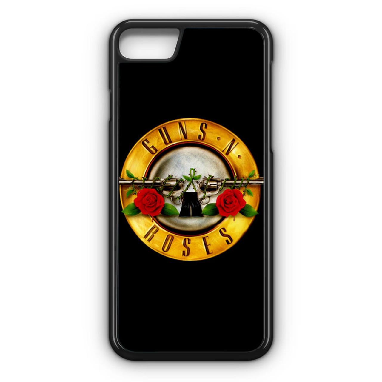 guns n roses iphone 8 case