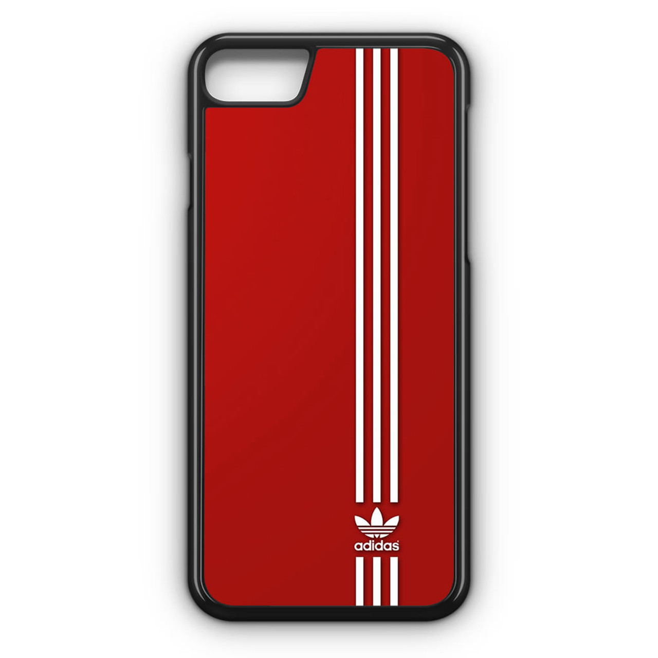 quality design 1e321 eb887 Brand Adidas Red White Sport iPhone 8 Case