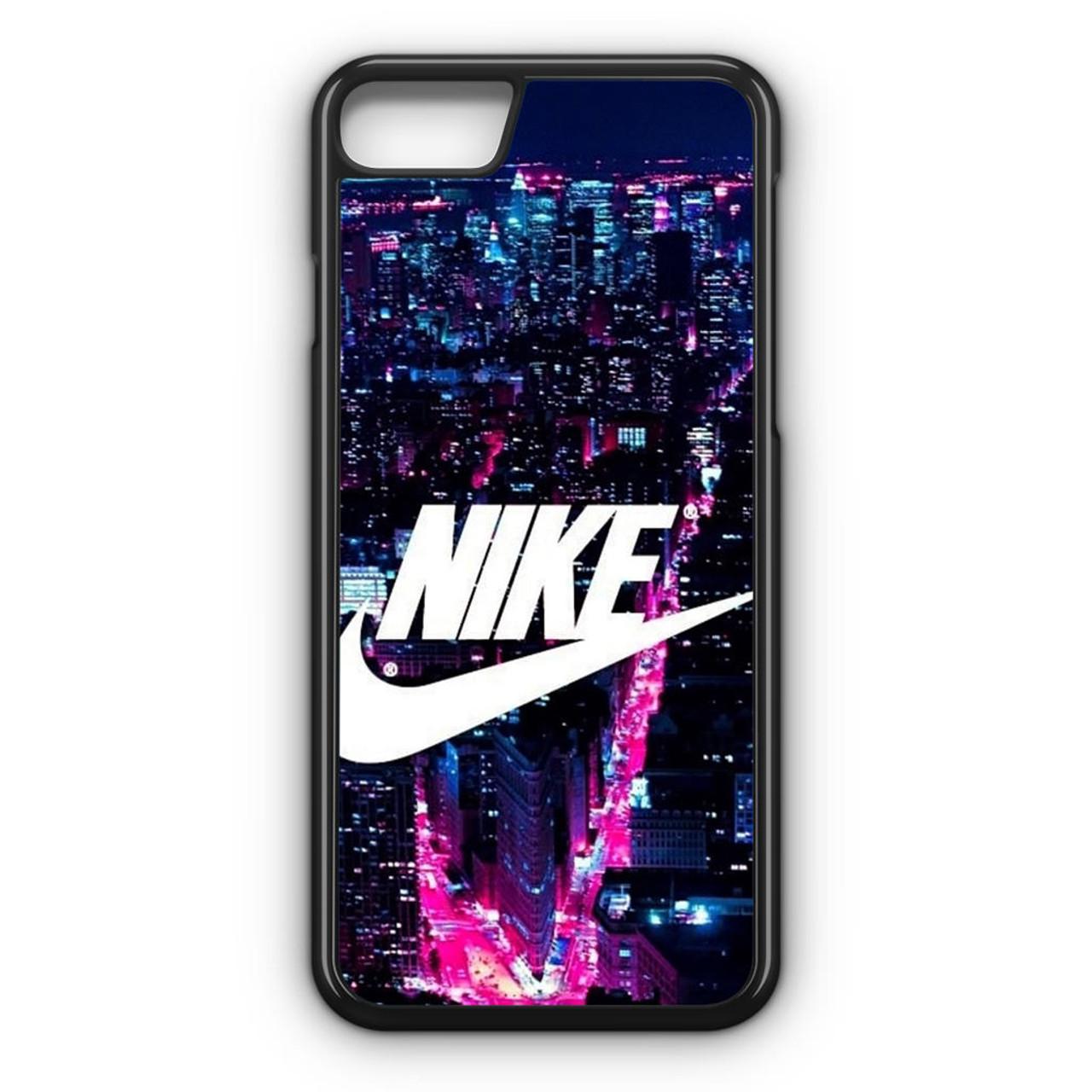 Delegación estrés Presunto  Nike Logo New York City iPhone 8 Case - CASESHUNTER