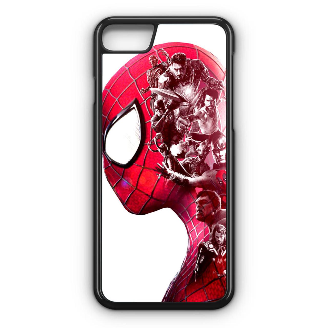 case iphone 8 marvel