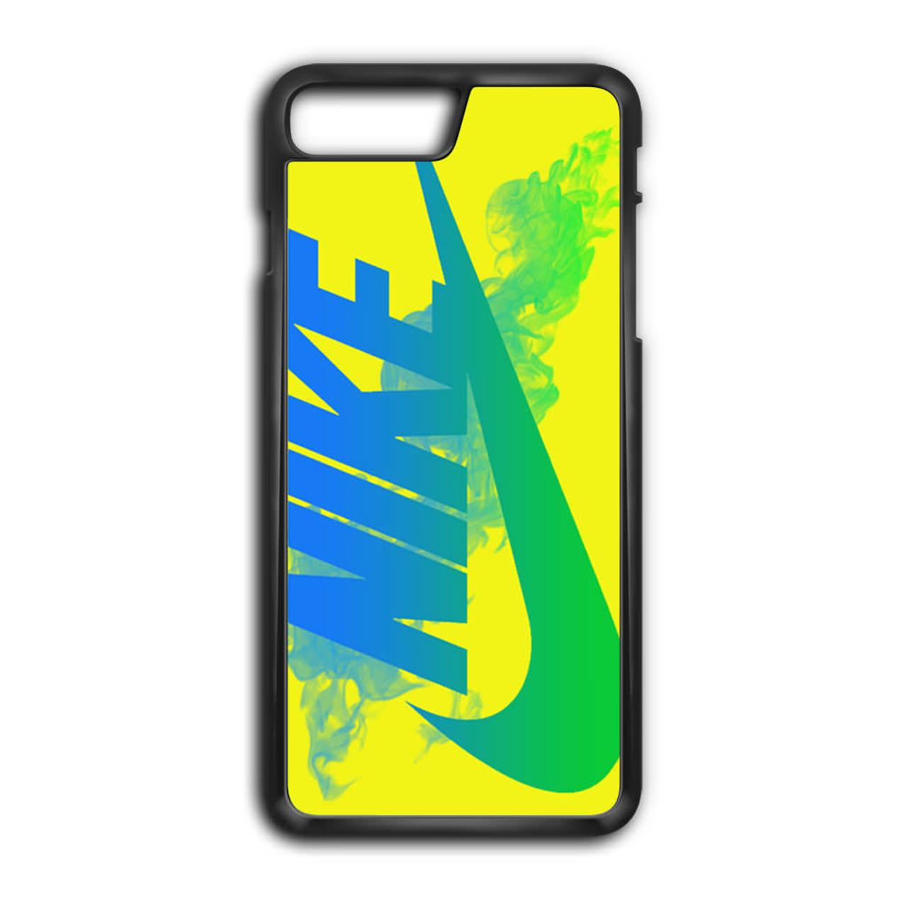 b0a0690bf52ad Nike Logo in Yellow iPhone 8 Plus Case