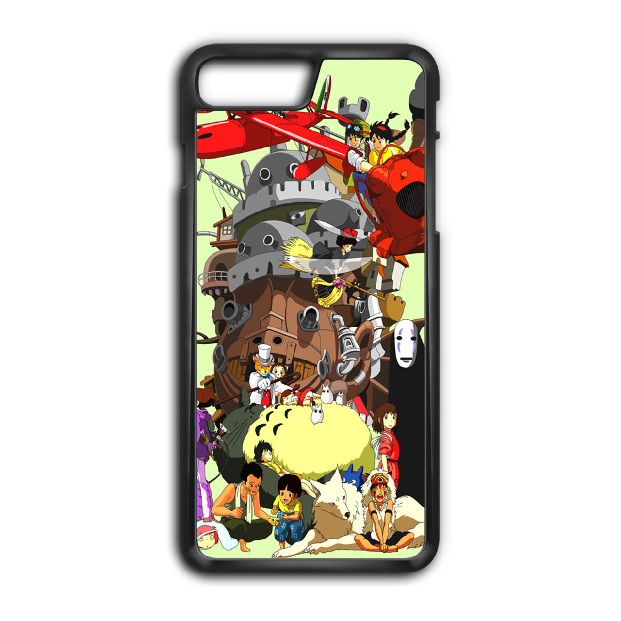the latest ba397 a34fe Studio Ghibli Collage iPhone 8 Plus Case