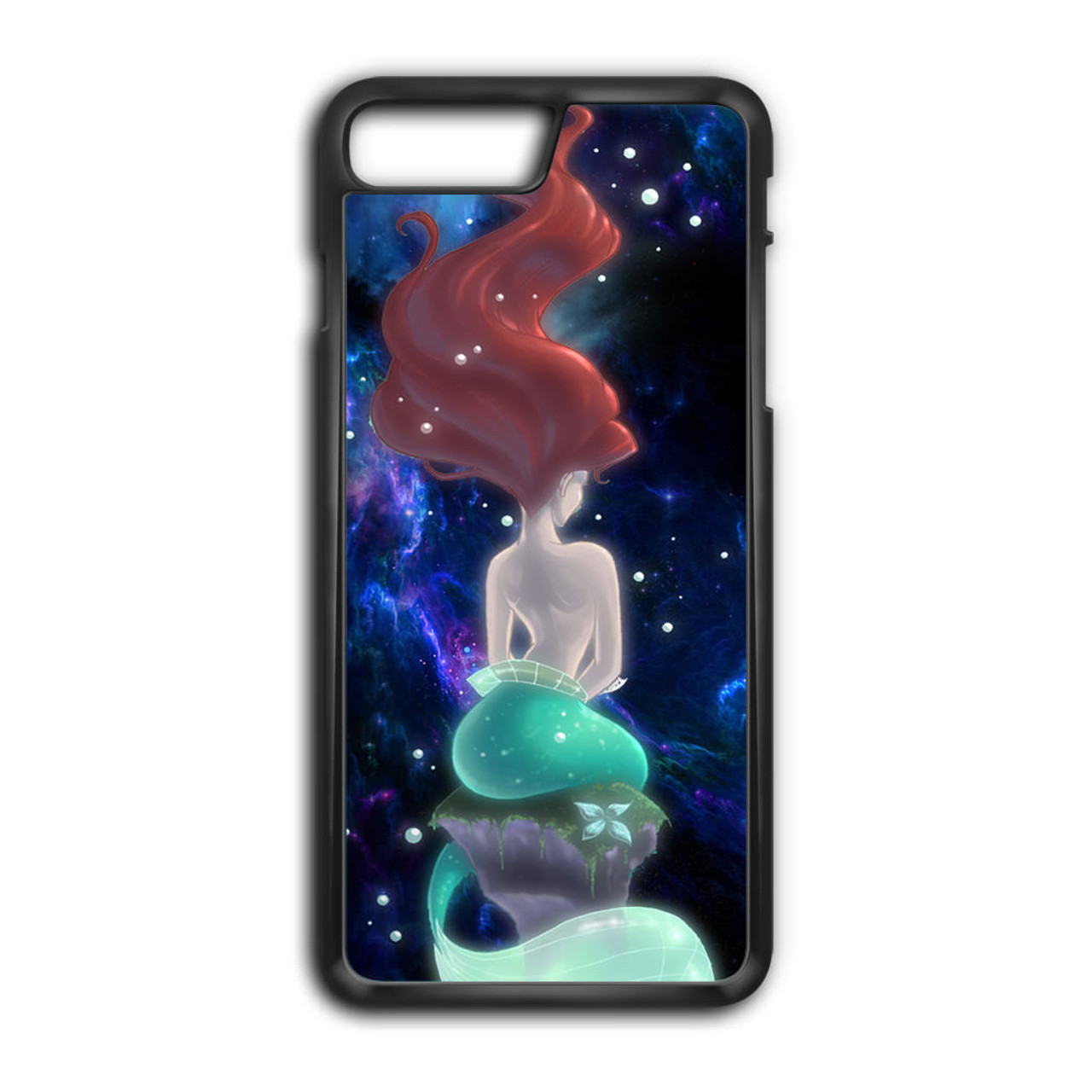 wholesale dealer 03075 571d8 Beautiful Hair Ariel Little Mermaid iPhone 8 Plus Case