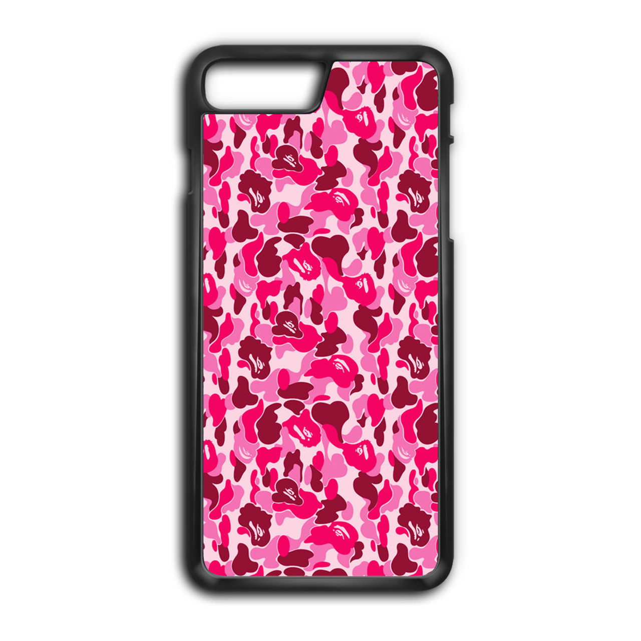 quality design 1e496 626ae Bathing Ape Bape Pink iPhone 8 Plus Case