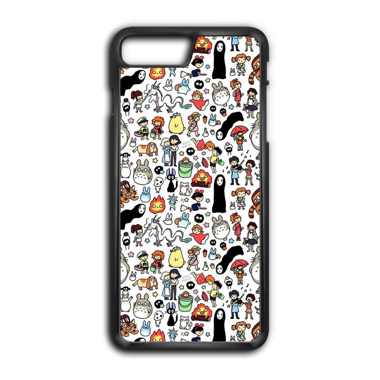 info for c2508 4da19 Kawaii Studio Ghibli Character iPhone 8 Plus Case
