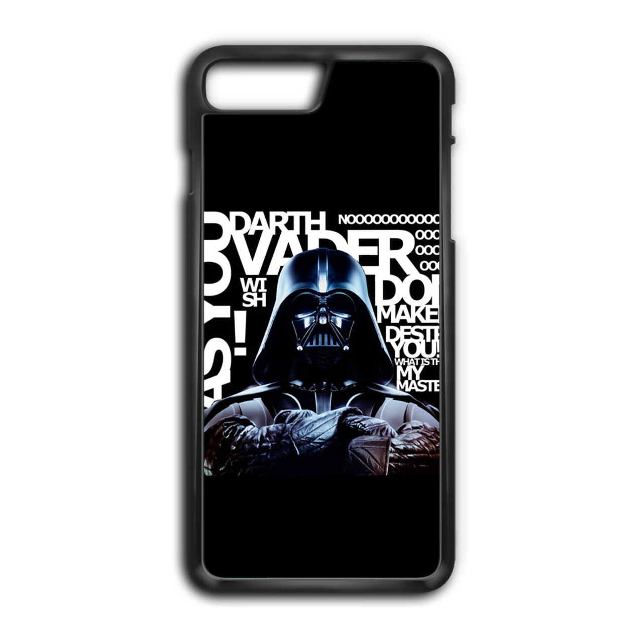 finest selection 3084b a9888 Star Wars Darth Vader Quotes iPhone 8 Plus Case