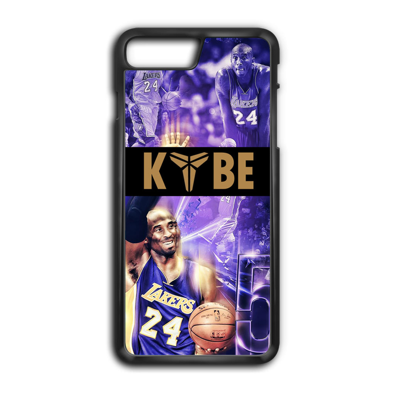 huge inventory 4729c 55370 Kobe Bryant Collage iPhone 8 Plus Case