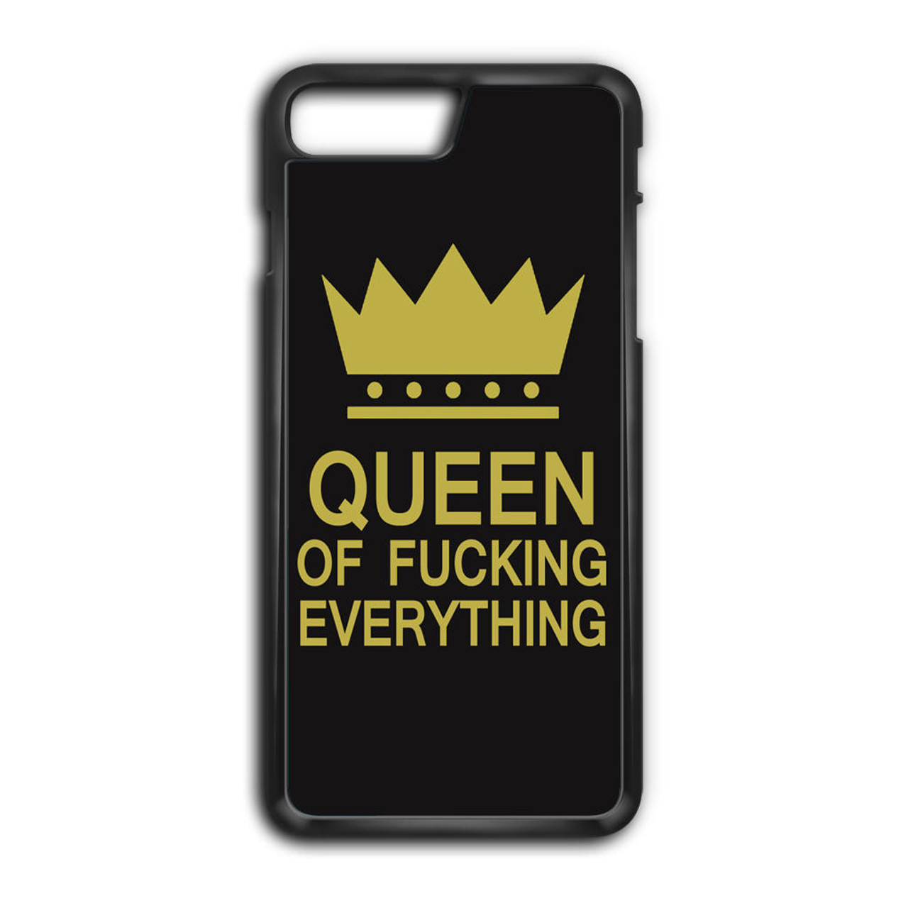 brand new 791ee 4e5c5 Queen of Fucking Everything Logo iPhone 8 Plus Case