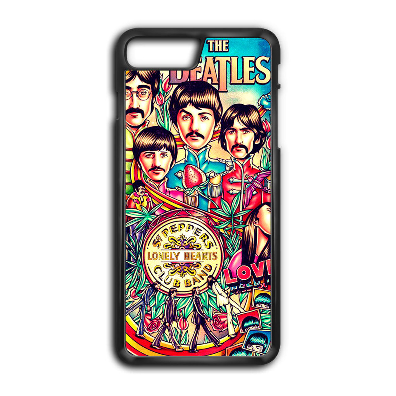 info for 632af 8b8c0 The Beatles Vintage Poster iPhone 8 Plus Case