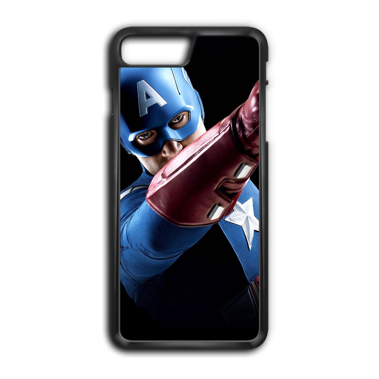 best service 4dea3 79097 Avengers Captain America Art iPhone 8 Plus Case