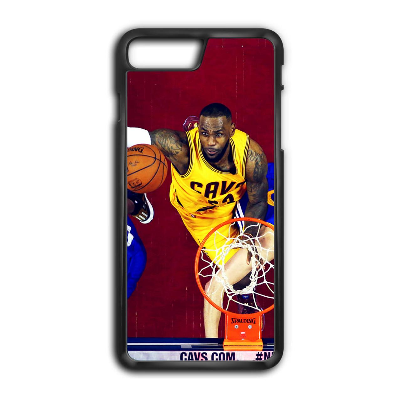 best website 25643 19ce6 Lebron James Nba Basketball Rebound iPhone 8 Plus Case