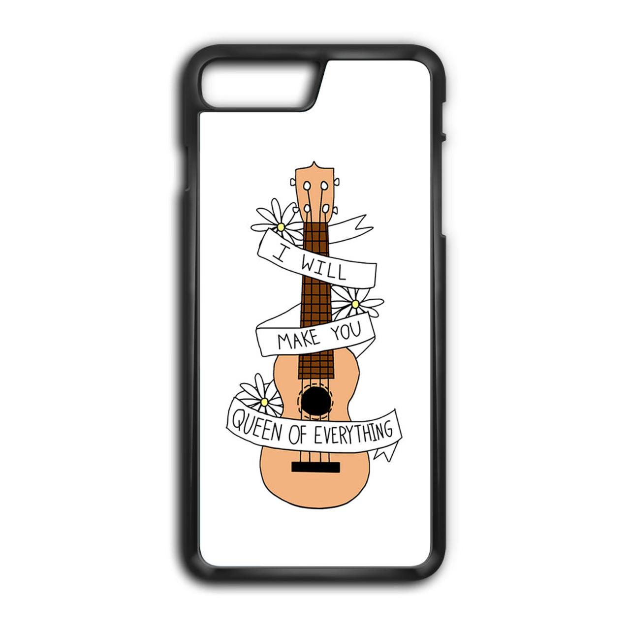 reputable site fba92 2e511 Twenty One Pilots Ukulele Song Lyrics iPhone 8 Plus Case
