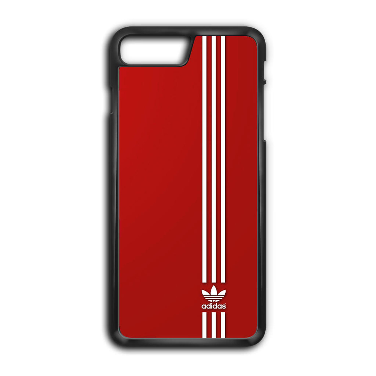 pretty nice 9f0ea 34bd4 Brand Adidas Red White Sport iPhone 8 Plus Case
