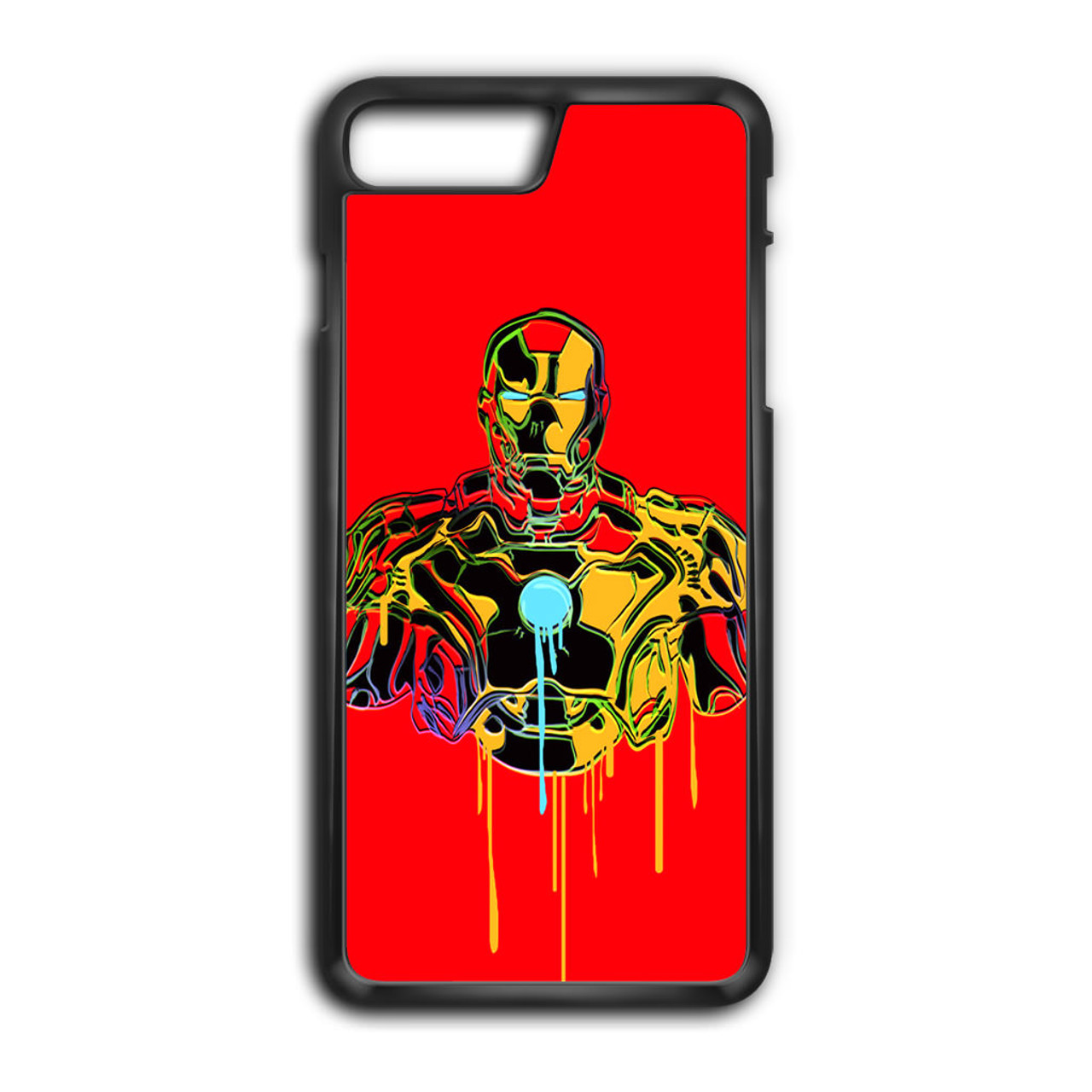 new style 0881a 0279a Iron Man Melting iPhone 8 Plus Case