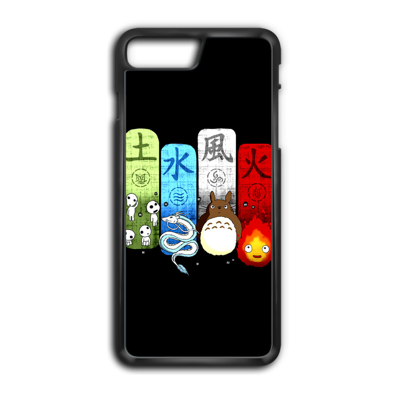 new concept ac0fb 2e946 Studio Ghibli Elemental Charms iPhone 8 Plus Case