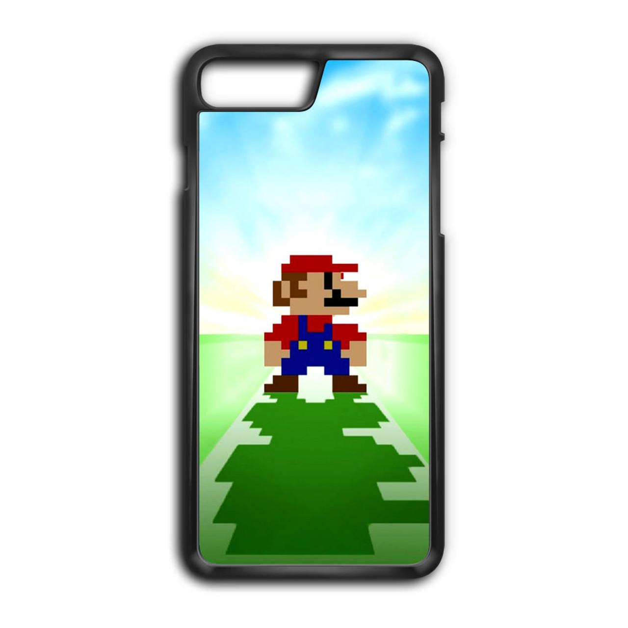 Super Mario Bros Minecraft Iphone 8 Plus Case Caseshunter