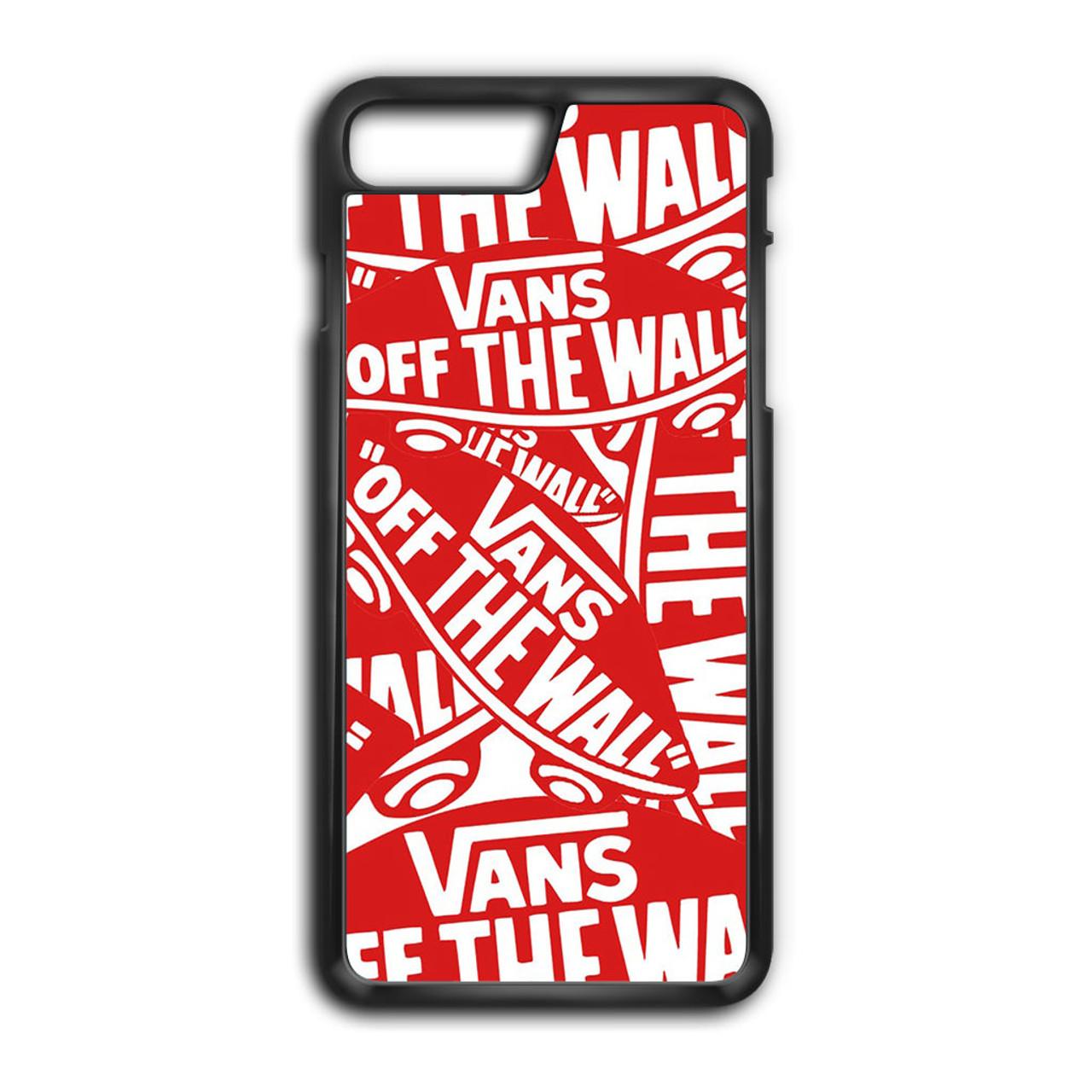 timeless design f0c31 cb7b6 Vans logo iPhone 8 Plus Case