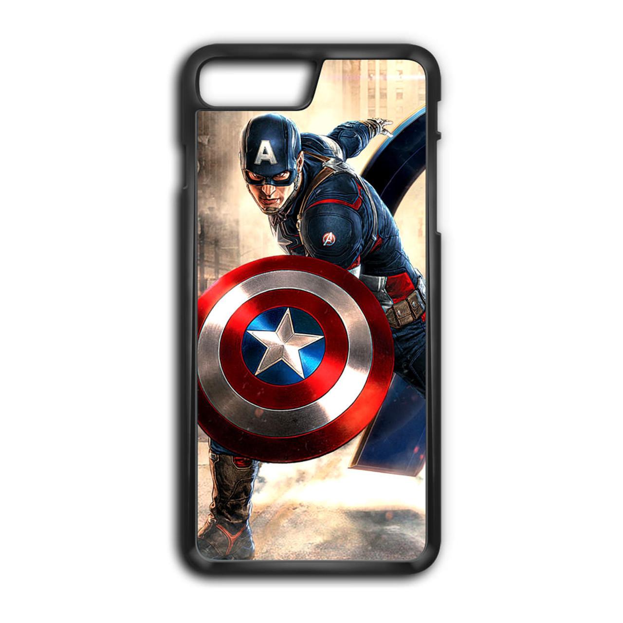 low priced 2d4fa 603ae Captain America Avengers iPhone 8 Plus Case