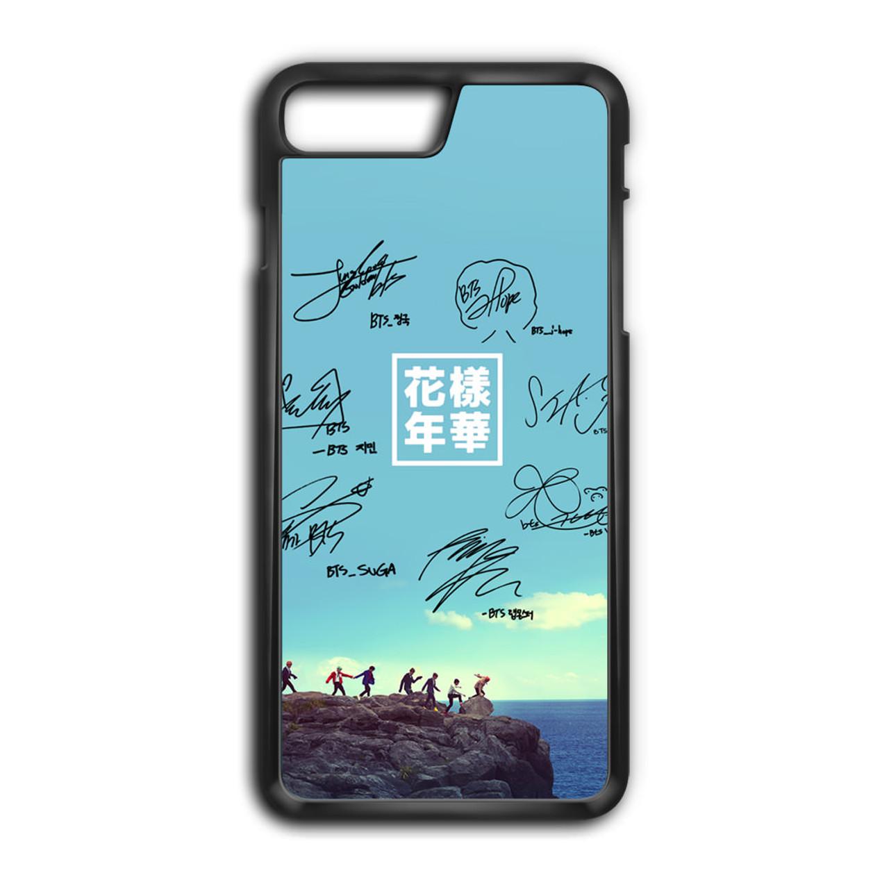 premium selection 1f3e7 1d75e BTS Signature1 iPhone 8 Plus Case