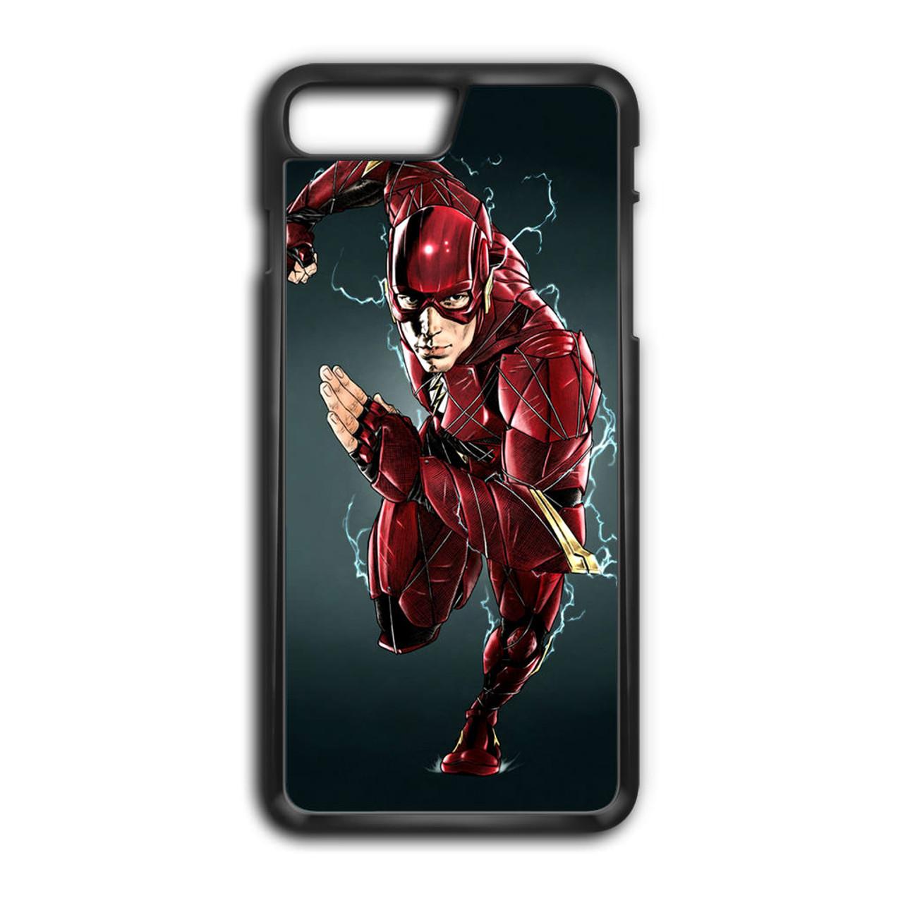 buy popular ca6c5 49872 Ezra Miller The Flash iPhone 8 Plus Case