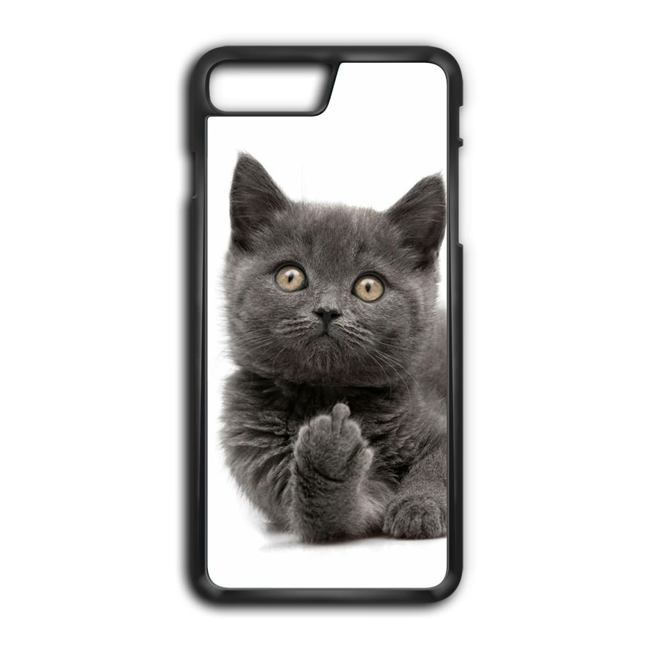 check out 84eea 64863 Finger British Shorthair Cat iPhone 8 Plus Case