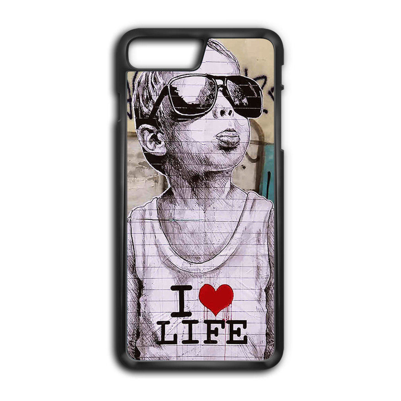 banksy iphone 8 plus case