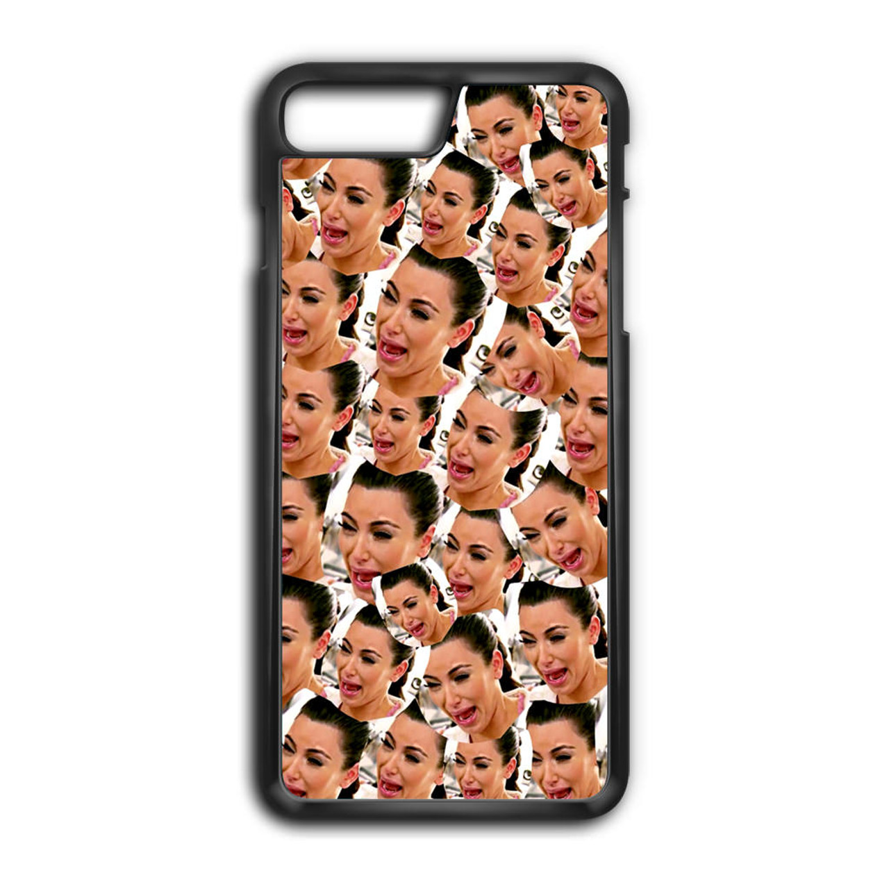 best loved 12505 8a725 Kim Kardashian Crying Collage iPhone 8 Plus Case