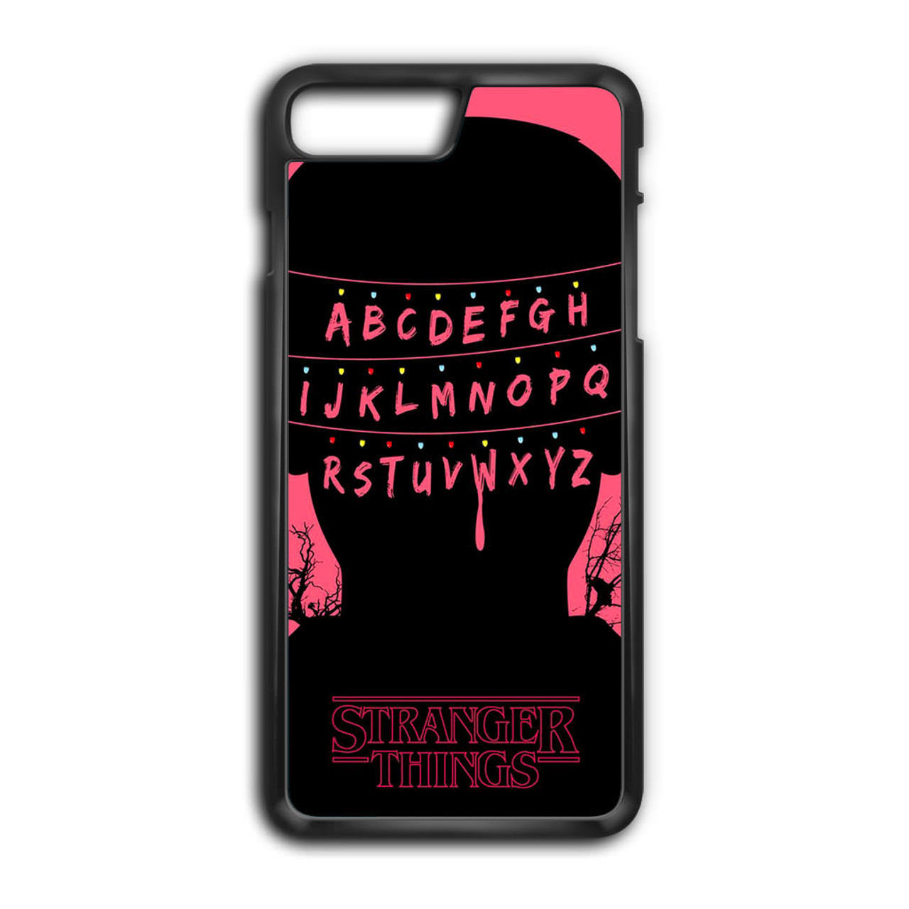 new style ae4bf ef348 Stranger Things Alphabets iPhone 8 Plus Case