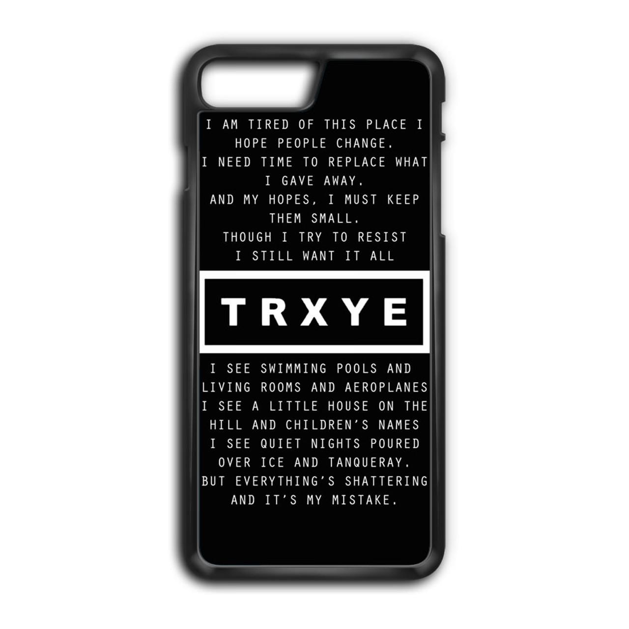 quality design 7bcd3 273c1 Troye Sivan Lyrics iPhone 8 Plus Case