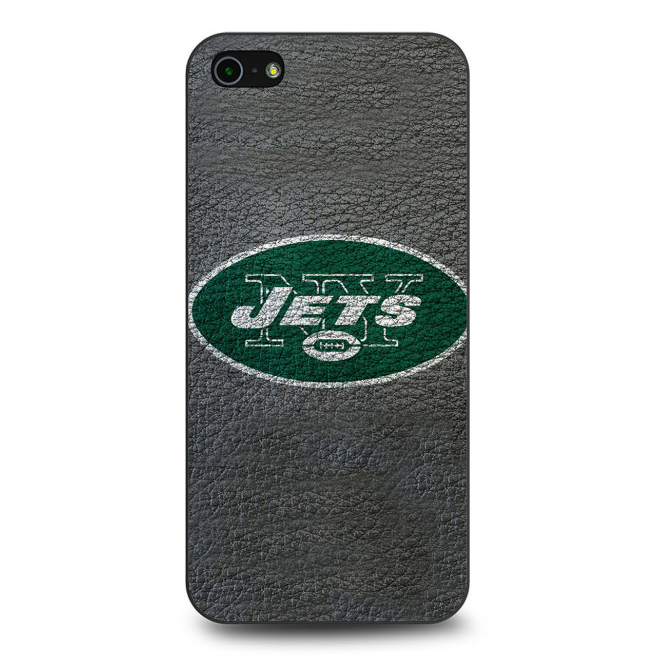 new products a0ea1 87719 New York Jets NFL Football iPhone 5/5S/SE Case