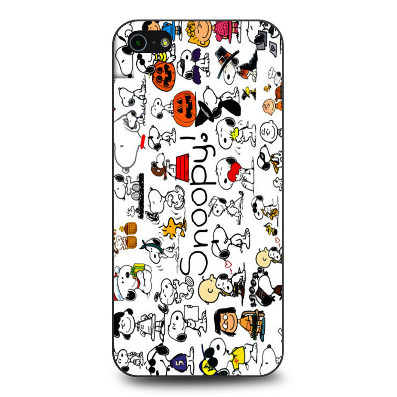 timeless design e8cae 38cec Snoopy Collage iPhone 5/5S/SE Case