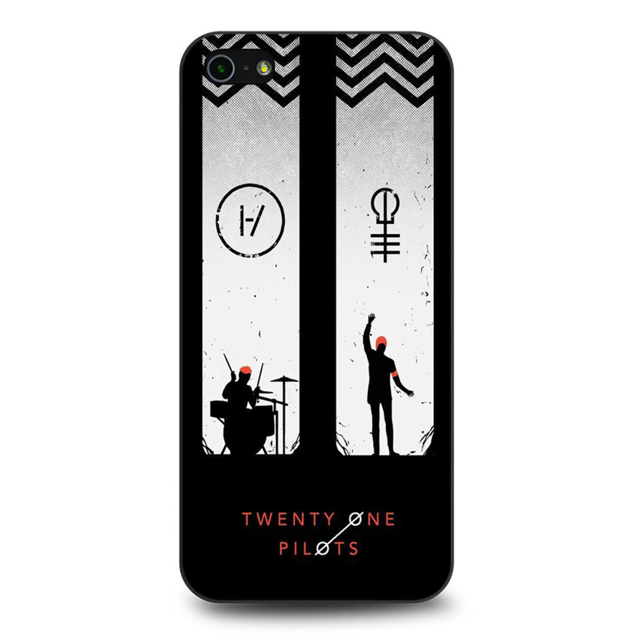 new concept b36e6 33d90 Twenty One Pilots Project iPhone 5/5S/SE Case