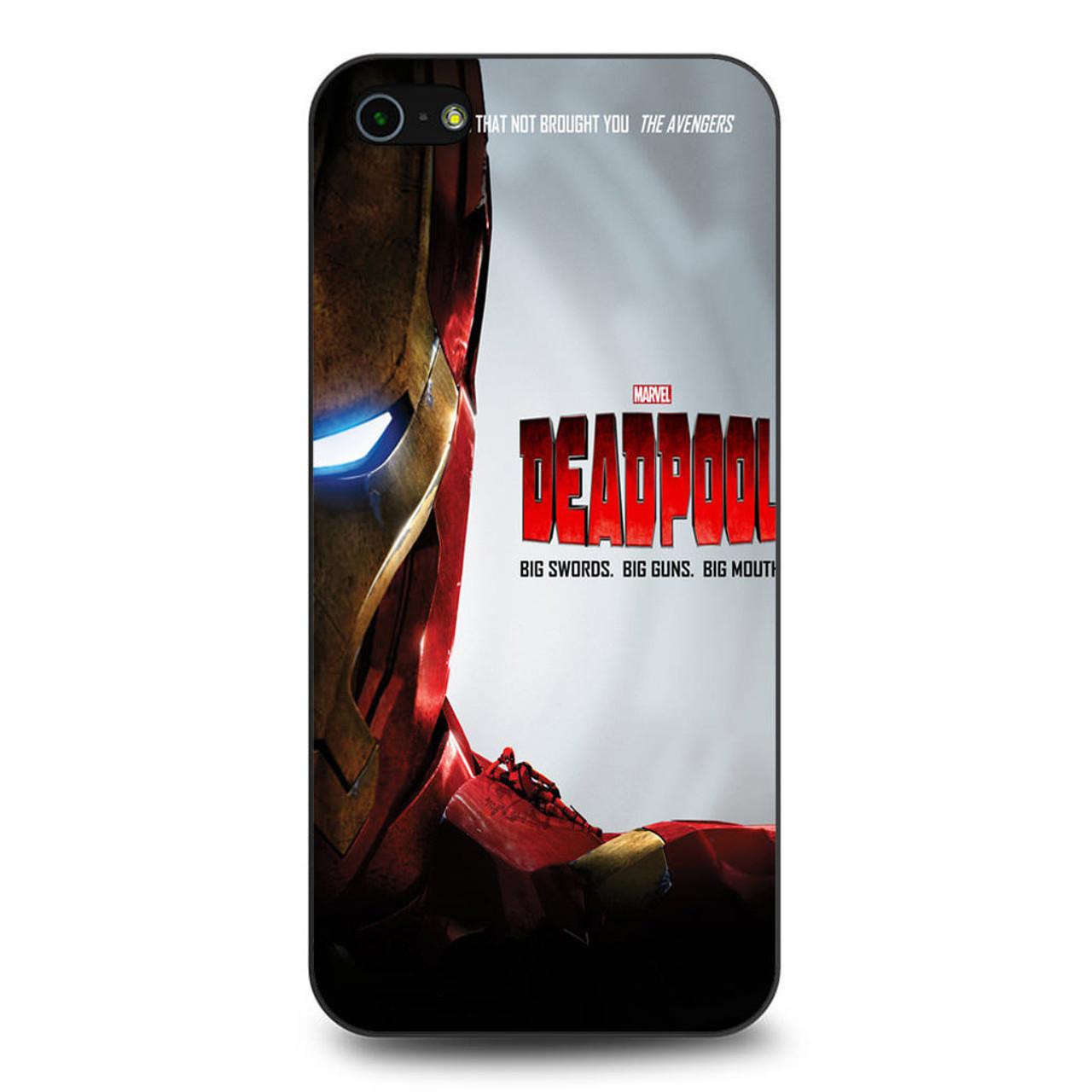 timeless design fb650 d9313 Ant Man Deadpool Parody iPhone 5/5S/SE Case