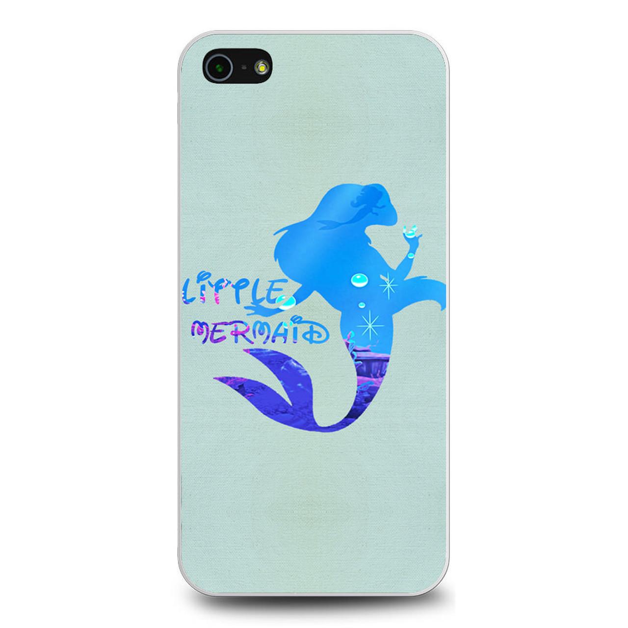 Princess Ariel Mermaid quote iphone case