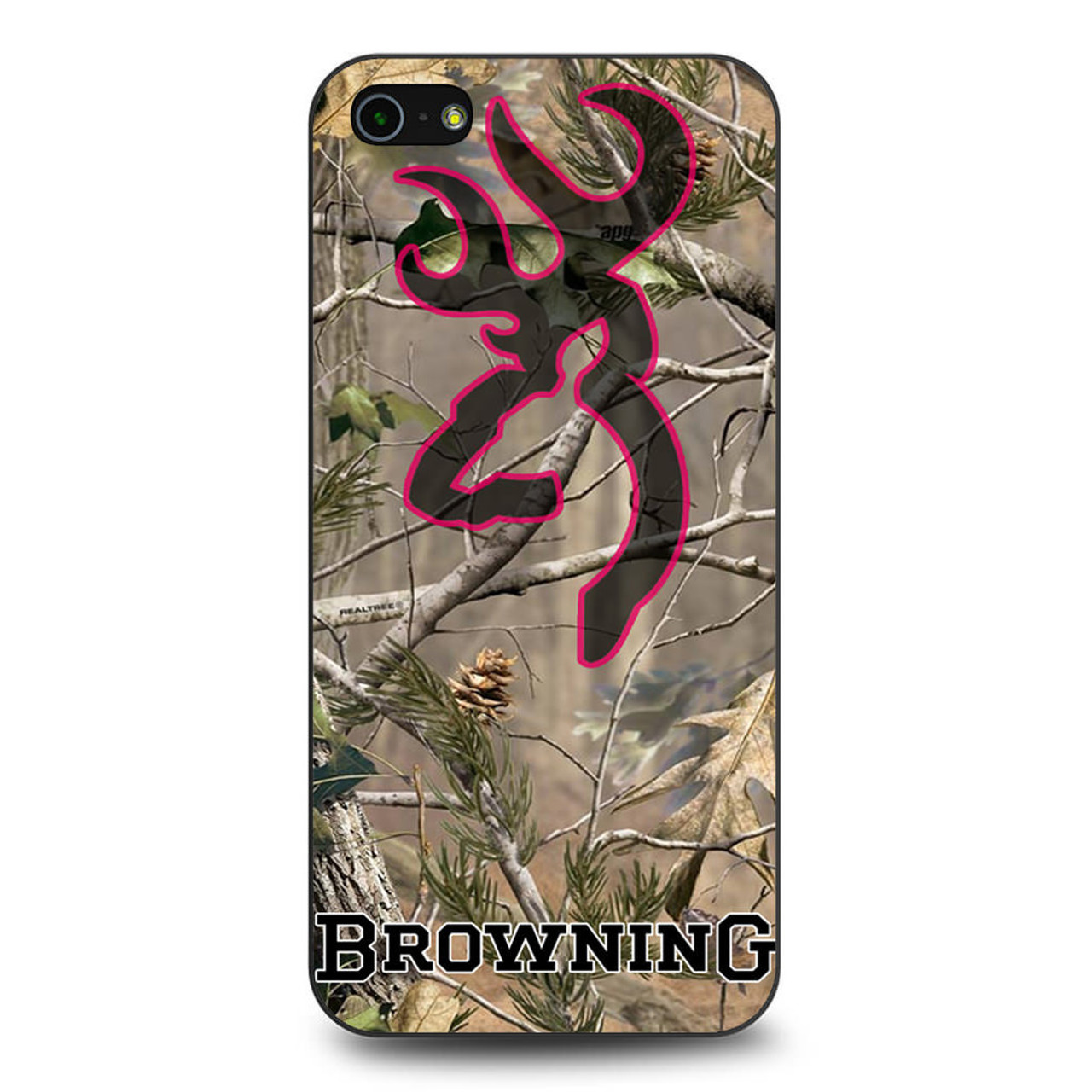 outlet store 5f16e 4672e Browning Deer Camo Browning iPhone 5/5S/SE Case