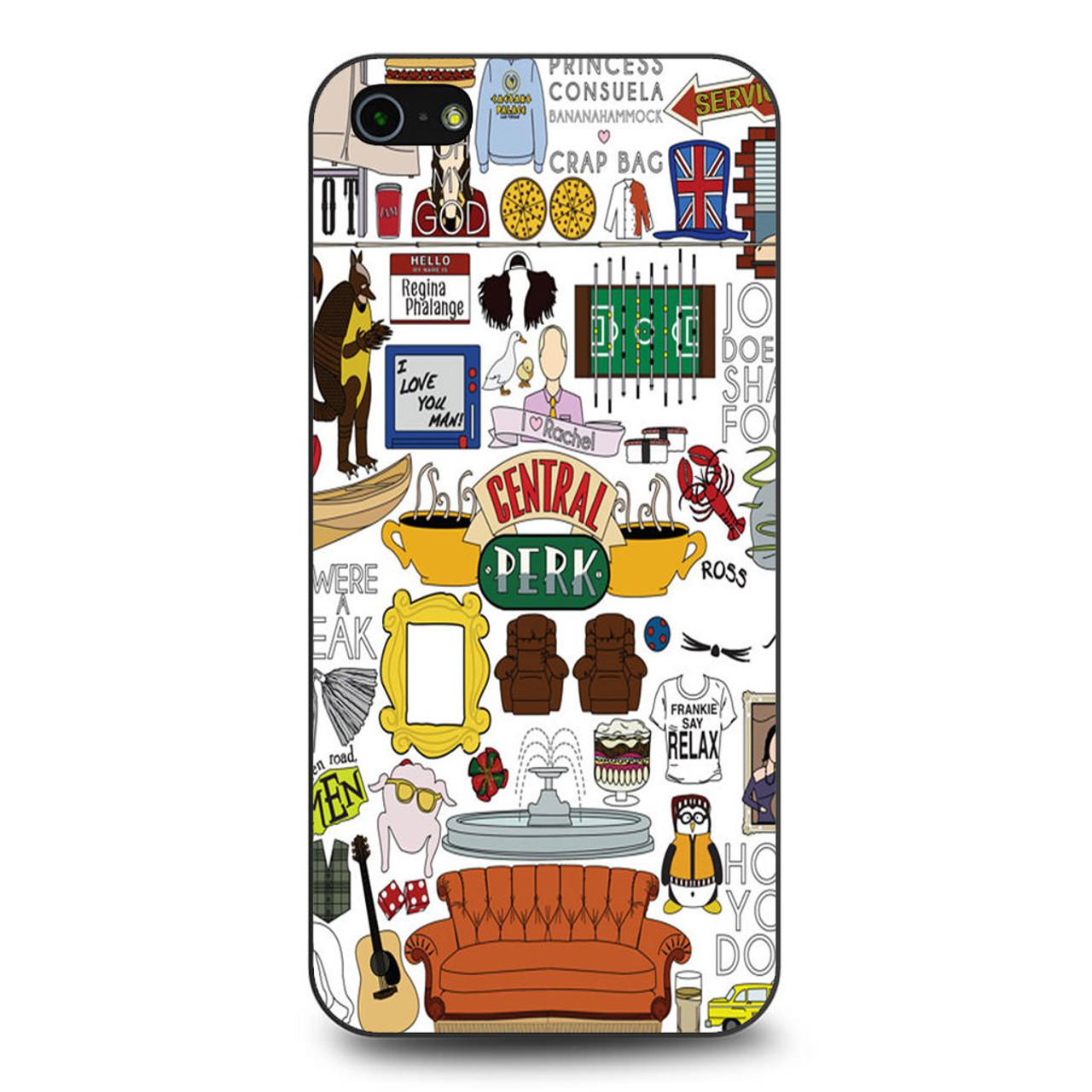 innovative design e9b34 6ebb6 Friends Tv Show Central Perk iPhone 5/5S/SE Case