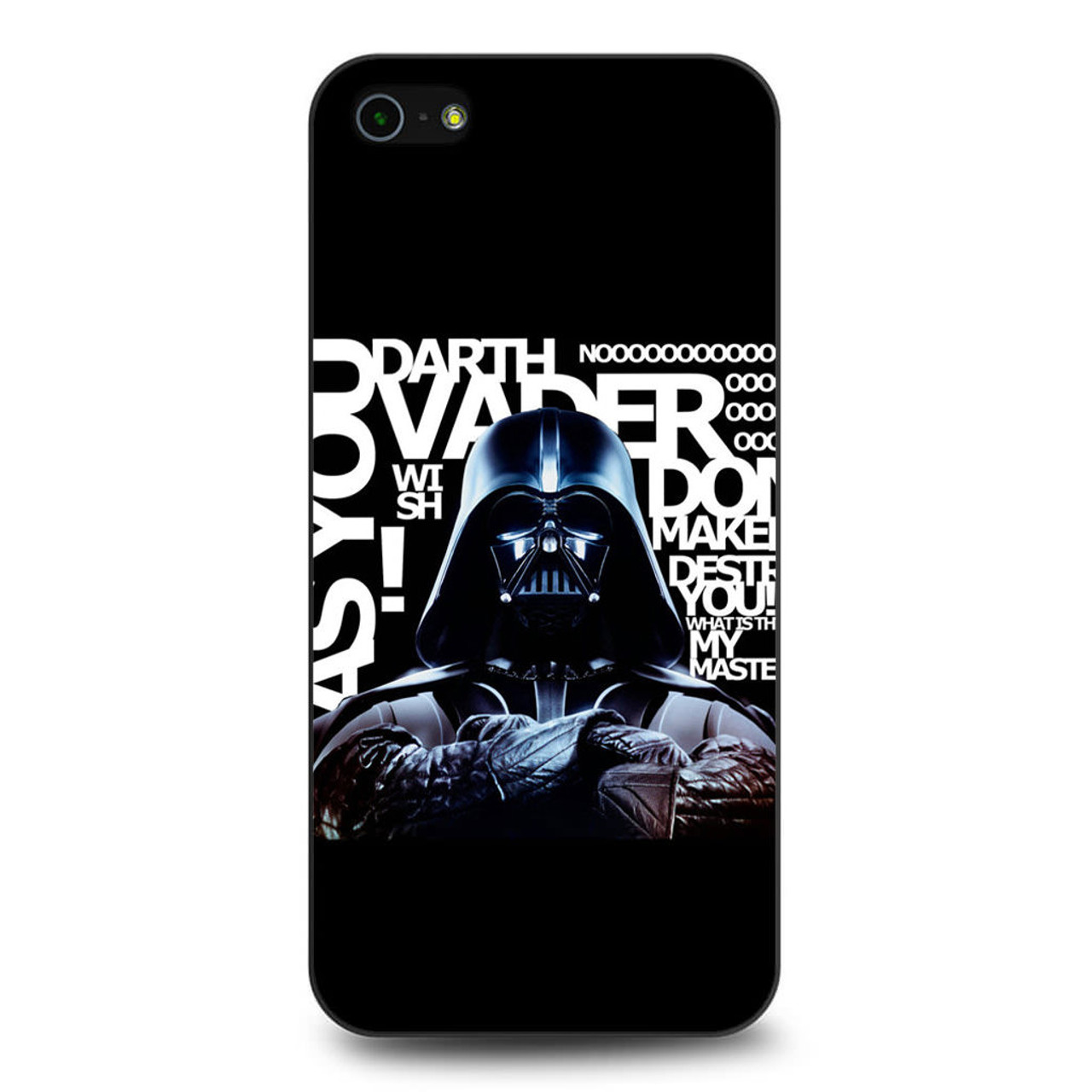sale retailer 6a45a 273f7 Star Wars Darth Vader Quotes iPhone 5/5S/SE Case