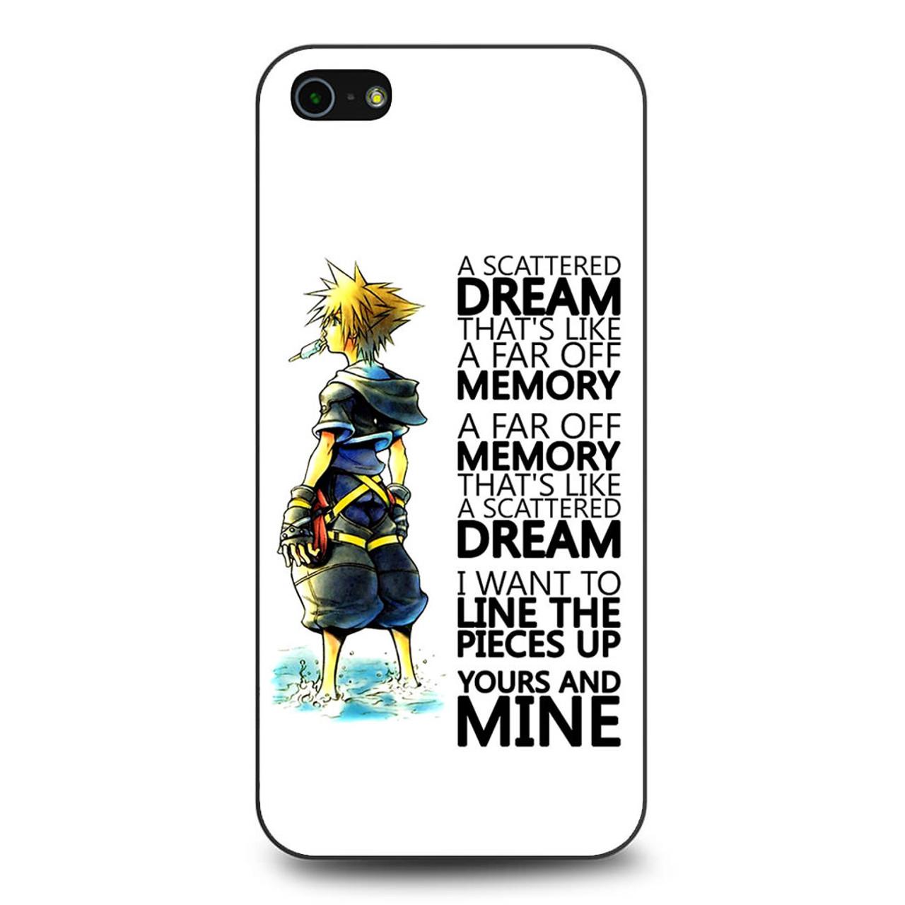 Kingdom Hearts Quotes | Kingdom Hearts Quotes Iphone 5 5s Se Case Caseshunter