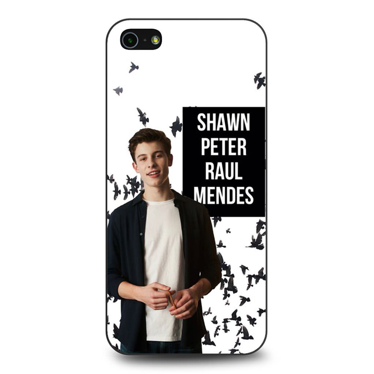 pretty nice 5f885 6a461 Shawn Peter Raul Mendes iPhone 5/5S/SE Case