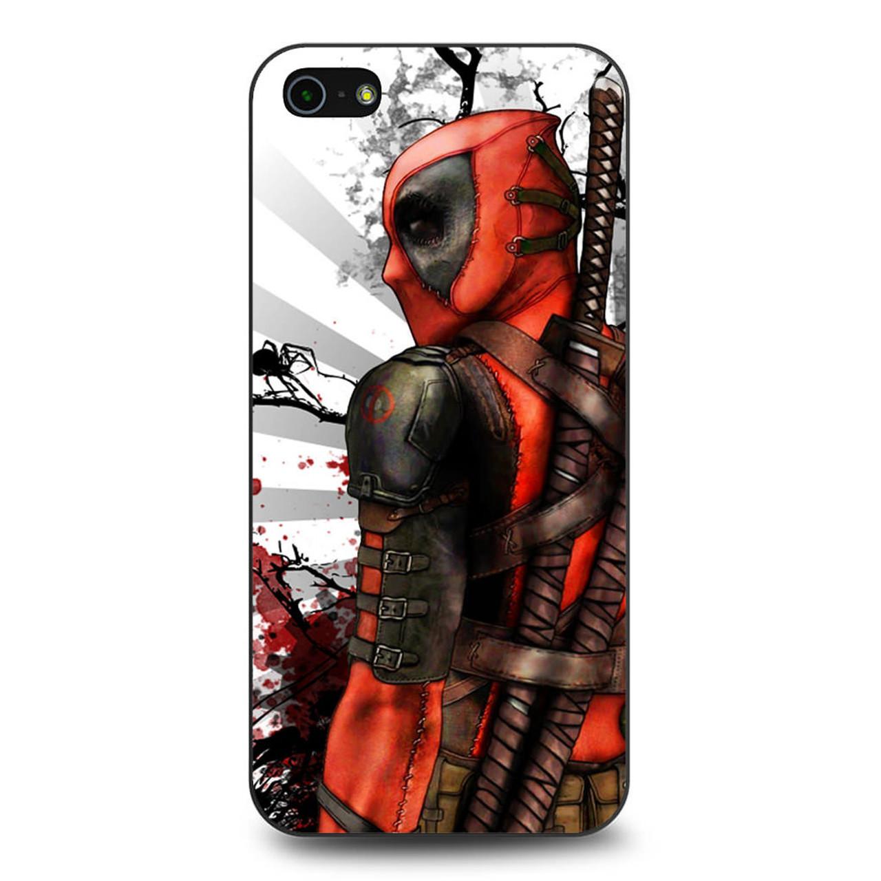 new product 27516 20c49 Deadpool Art iPhone 5/5S/SE Case