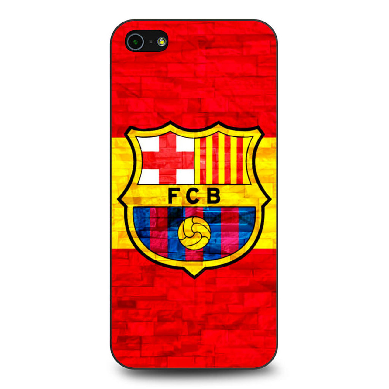 new product e5033 7ddd9 FC Barcelona Barca iPhone 5/5S/SE Case