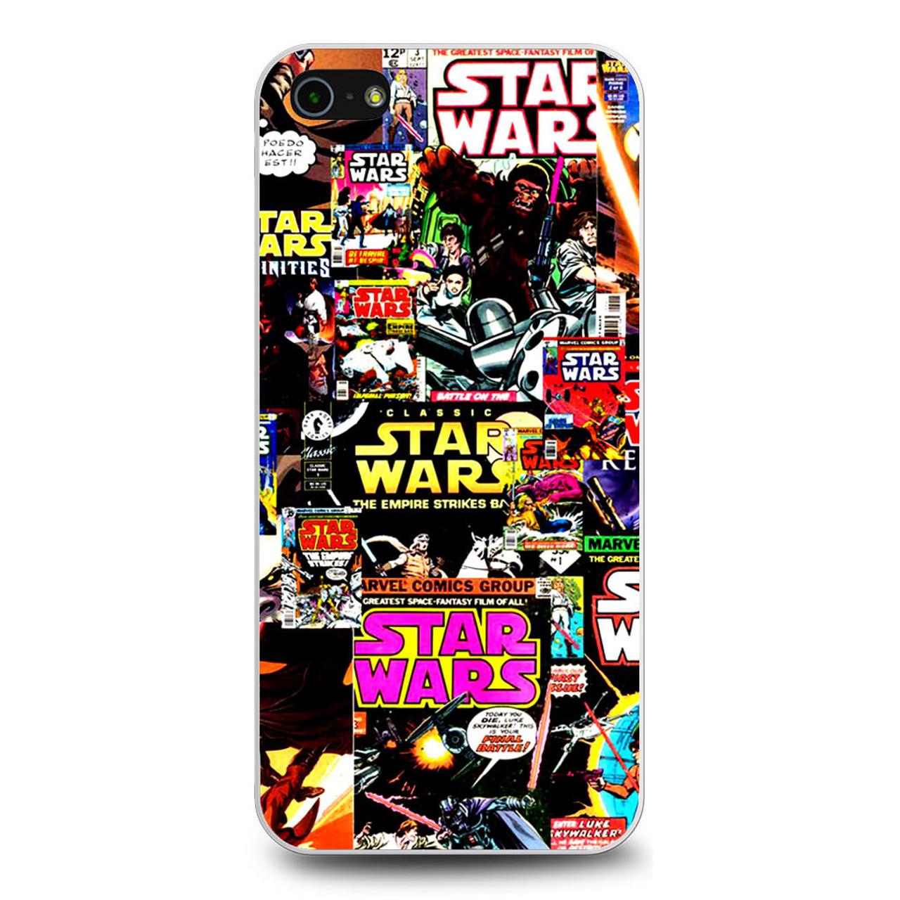 Star Wars Comic Colage iPhone 5/5S/SE Case