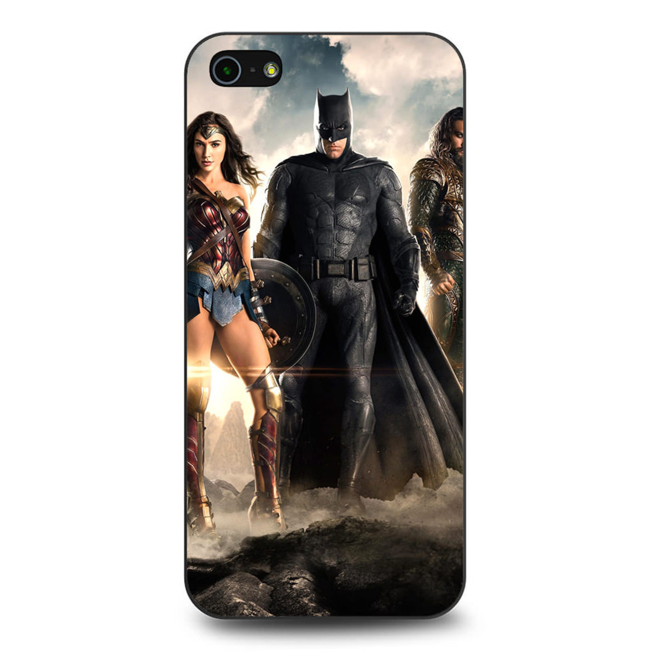 brand new 28e36 b0203 Justice League 2017 iPhone 5/5S/SE Case