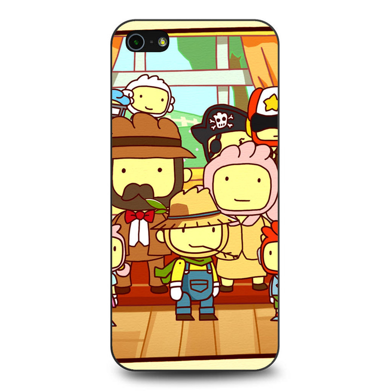Video Game Scribblenauts Unlimited iPhone 5/5S/SE Case