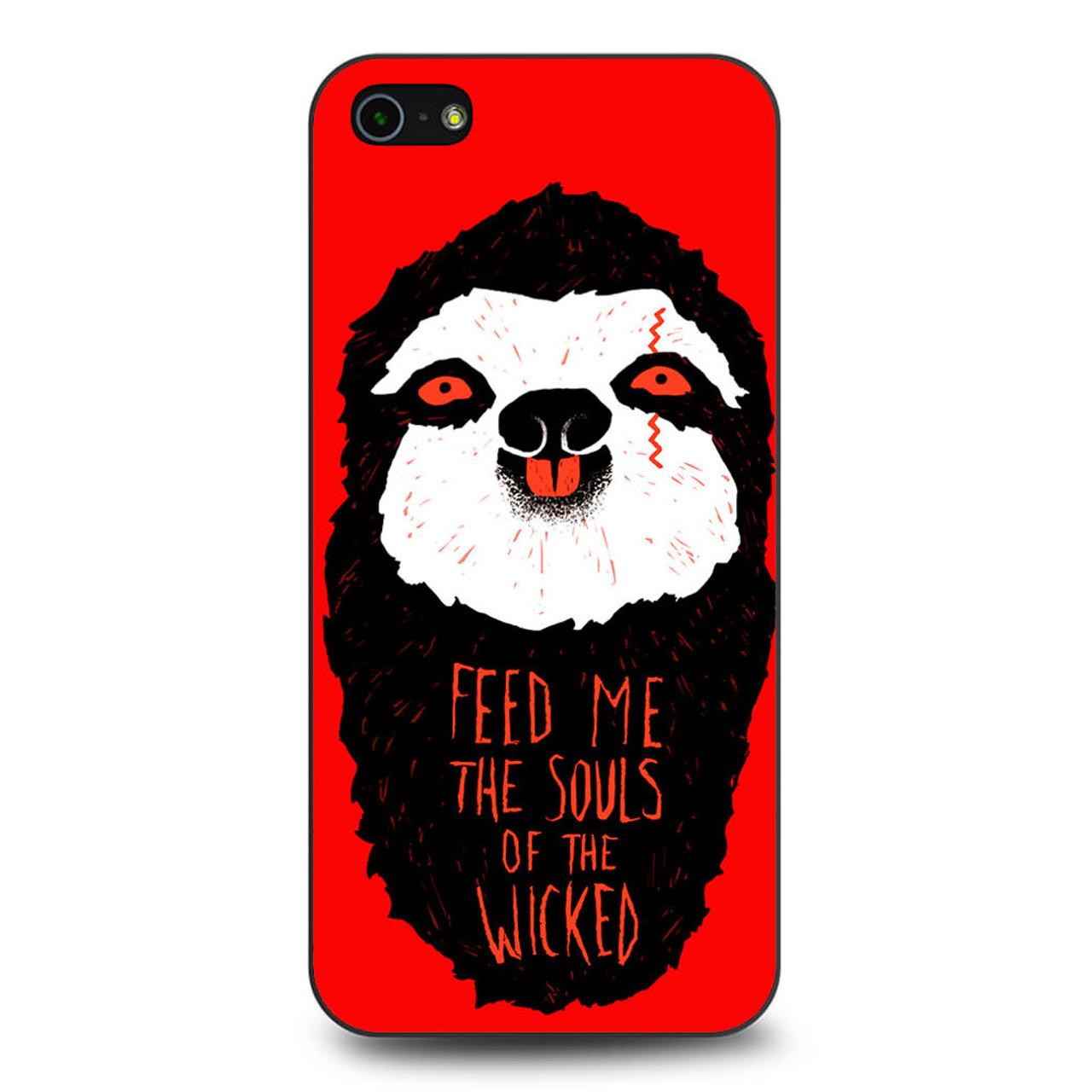 new arrival 57dc8 a17d8 Evil Sloth iPhone 5/5S/SE Case