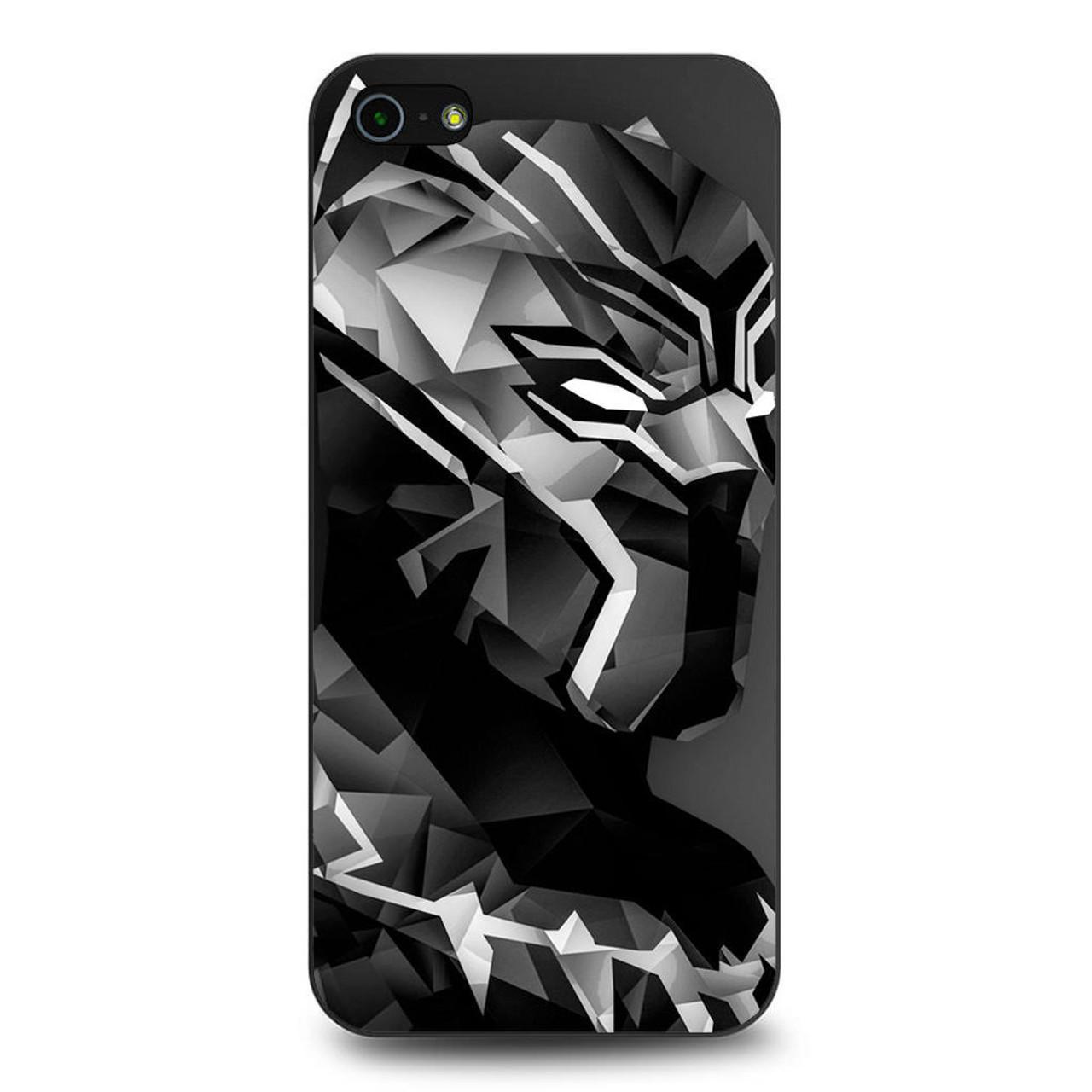 huge selection of 19af6 05ca8 Black Panther Digital Art iPhone 5/5S/SE Case