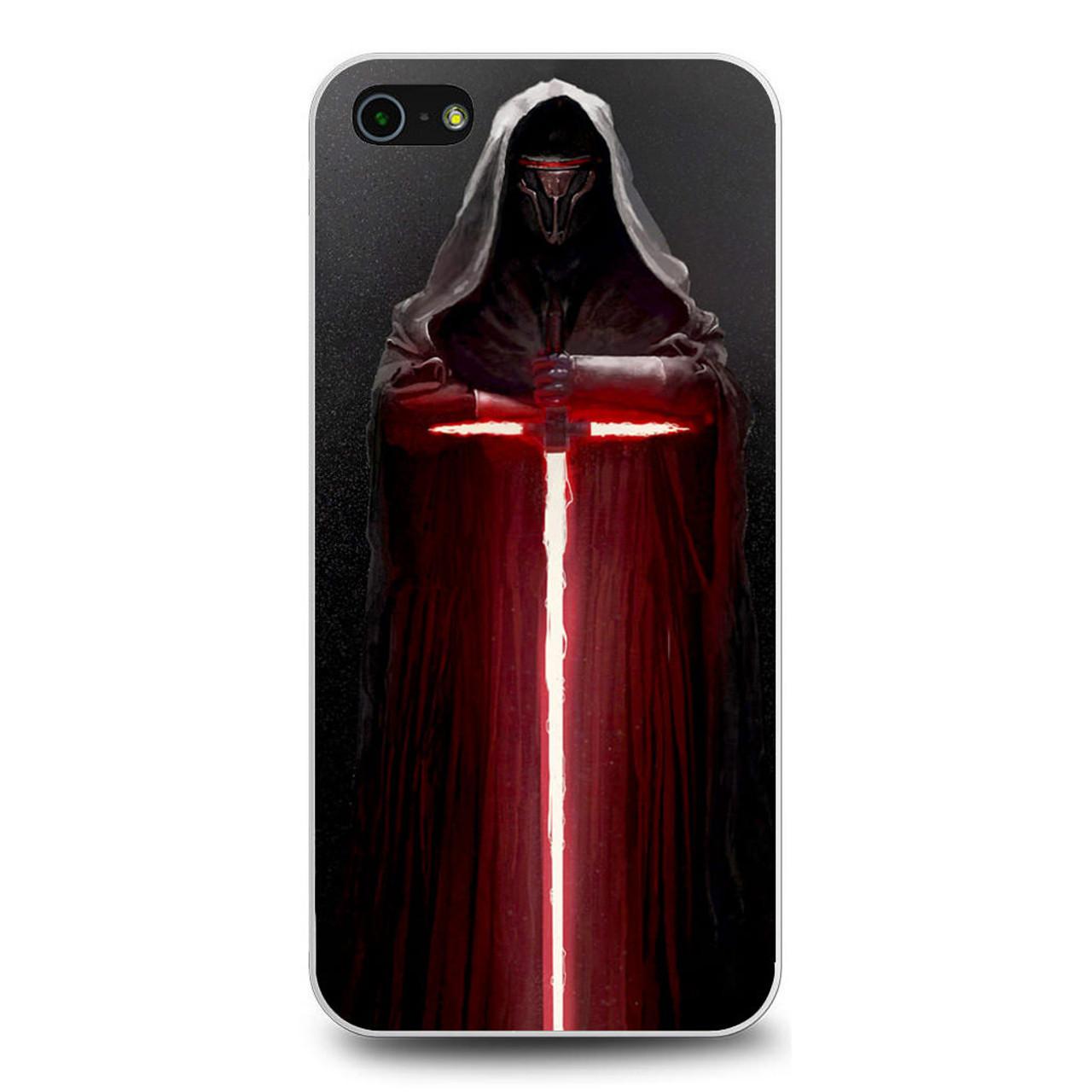 Kylo Ren Lightsaber Star Wars iPhone 5/5S/SE Case