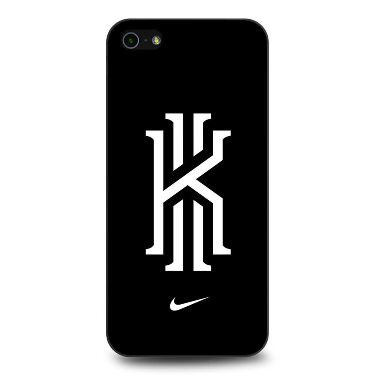 ec7ac8a3eb7b Kyrie Irving Nike Logo Black1 iPhone 5 5S SE Case - CASESHUNTER